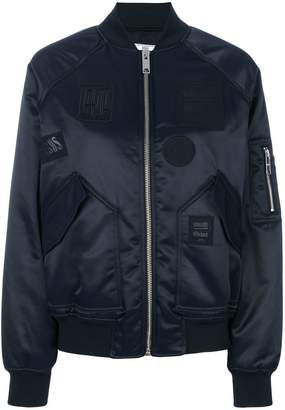 Versus patched bomber jacket