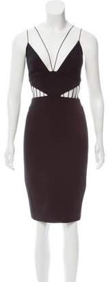 Cushnie et Ochs Cutout Sheath Dress