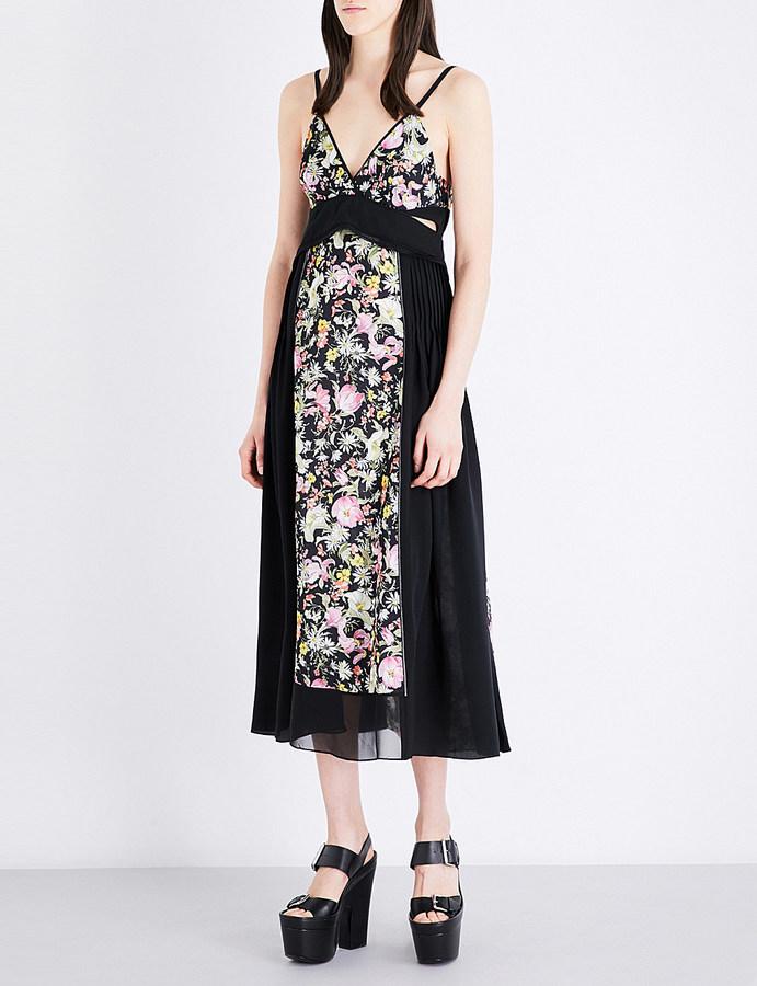 3.1 Phillip Lim3.1 Phillip Lim Meadow Flower-print silk-crepe midi dress