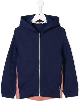 Marni two-tone hoodie