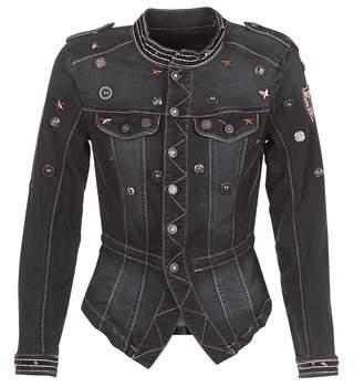 Cream MIRA women's Jacket in Black