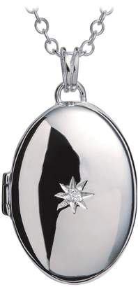 Hot Diamonds Sterling Silver And Diamond Locket