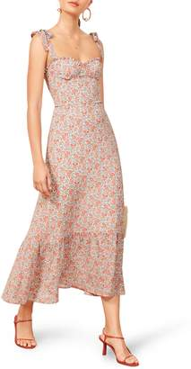 Reformation Nikita Floral Dress