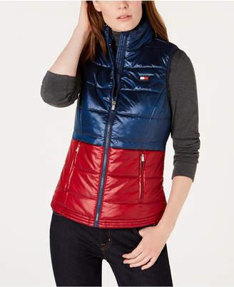 Tommy Hilfiger Shiny Bi-Color Vest
