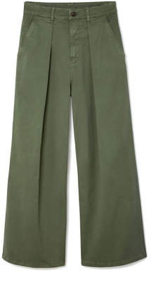 G. Label Madeline Wide-Leg Utility Pants