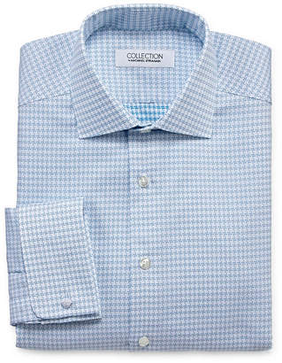 COLLECTION Collection by Michael Strahan Wrinkle Free Cotton Stretch Long Sleeve Woven Dress Shirt