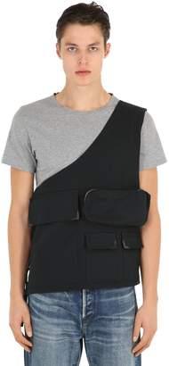 Body Bag Canvas Vest W/ Hidden Parka