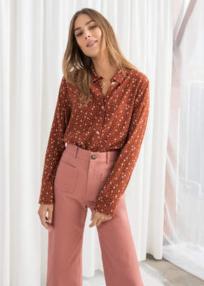And other stories Button Up Blouse