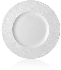 Bernardaud Ecume Porcelain Service Plate - White