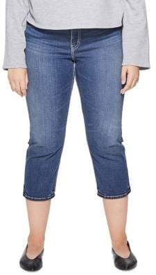 Silver Jeans Suki Mid-Rise Capri Jeans