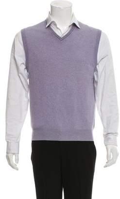 Brunello Cucinelli Cashmere Sleeveless Shirt