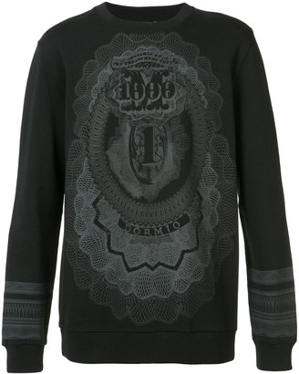 Givenchy printed sweatshirt $835 thestylecure.com