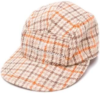 Golden Goose Rua plaid hat