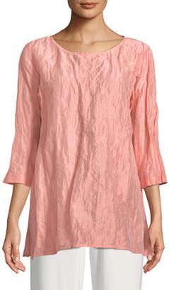 Caroline Rose Sorbet Crinkle Easy Tunic, Plus Size