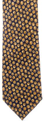 BrioniBrioni Silk Printed Tie