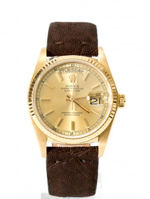 Rolex OYSTER PERPETUAL DAY-DATE WATCH $9,000 thestylecure.com