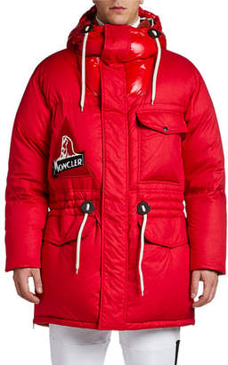 Moncler Men's Dedion Hooded Puffer Coat