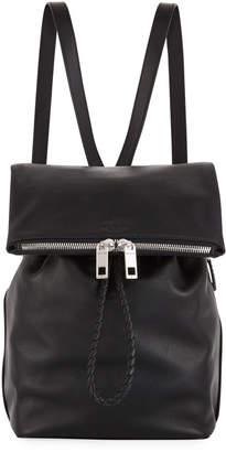 Rag & Bone Loner Leather Drawstring Backpack Bag