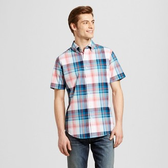 Merona Men's Short Sleeve Plaid Button Down Shirt $19.99 thestylecure.com