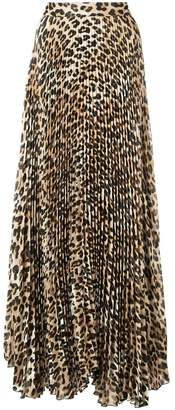 Alice + Olivia Alice+Olivia Katz maxi pleated skirt