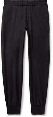 Paul Smith Slim-Fit Tapered Wool Drawstring Trousers