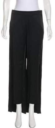 Hellessy Satin Cape Pants w/ Tags