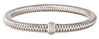 Roberto Coin 18K Diamond Primavera Bangle