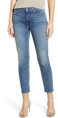 7 For All Mankind Kimmie Crop Slim Jeans