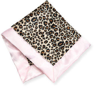Swankie Blankie Cheetah-Print Security Blanket, Plain