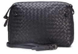Bottega Veneta Small Leather Messenger Bag