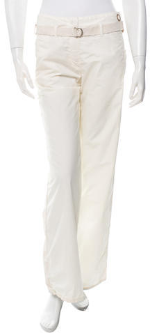 MonclerMoncler Belted Wide-Leg Pants