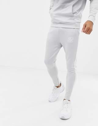 SikSilk sweatpants in gray