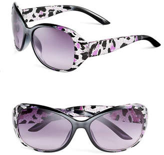 Sam Edelman CC166 Printed Butterfly Wrap Sunglasses