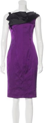 Karen Millen Sleeveless Knee-Length Dress w/ Tags $105 thestylecure.com