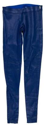 Mason Leather Skinny Pants