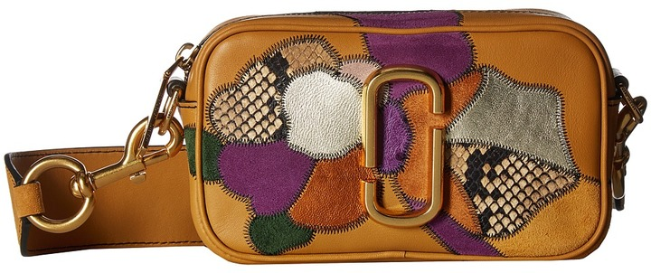 Marc Jacobs Marc Jacobs - Patchwork Flowers Snapshot Handbags