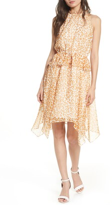 Sam Edelman Peplum Chiffon Dress