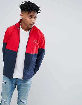 Jack Wills Coldwell Track Jacket In Navy