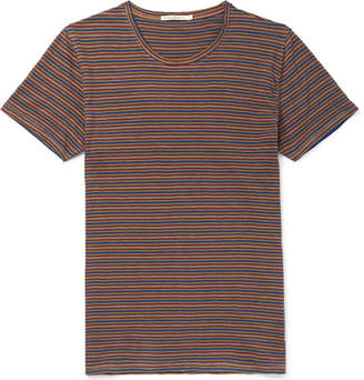 Nudie Jeans Anders Striped Organic Cotton-Jersey T-Shirt - Multi