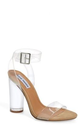 Women's Steve Madden Clearer Column Heel Sandal $109.95 thestylecure.com