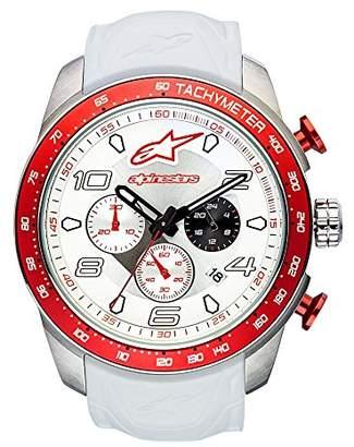 Alpinestars Unisex-Adult Chronograph Quartz Watch with Silicone Strap 1037-96002