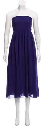 Giada Forte Strapless Midi Dress w/ Tags