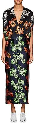 "Zero Maria Cornejo Women's Aki ""Pressed-Flower"" Silk Dress"