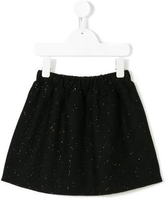 Douuod Kids sequin-embroidered mini skirt