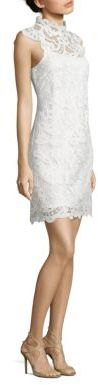 Laundry by Shelli Segal Venise Scalloped Lace Dress $168 thestylecure.com
