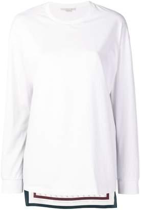 Stella McCartney monogram long-sleeve top