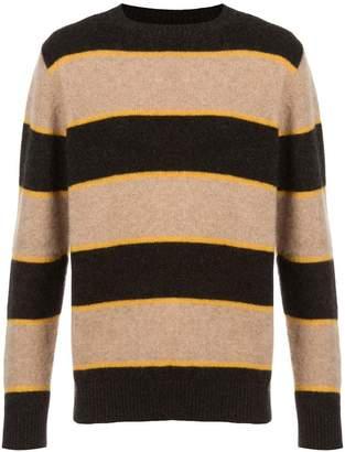 The Elder Statesman striped knit sweater