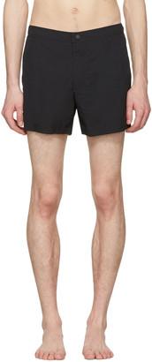 Burberry Black Gilmoor Swim Shorts $225 thestylecure.com