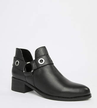 Park Lane Wide Fit Leather Ankle Boots