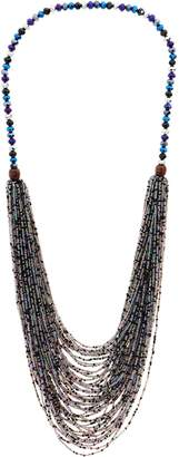 3.1 Phillip Lim Joan Rivers Classics Collection Joan Rivers Shimmering Layered Seed Bead Necklace